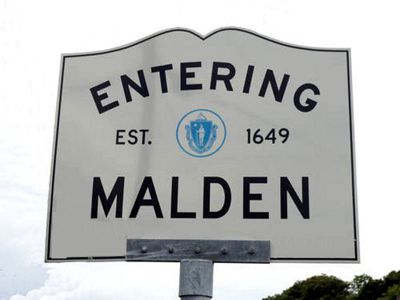 Malden sign